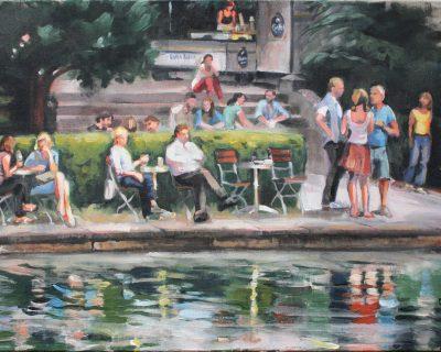 BlücherPark 2 I Acryl auf Leinwand I 2015 I 100 x 70 cm (Preis auf Anfrage)