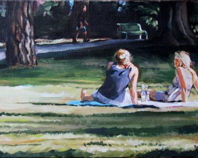 Letzter Sommertag 3 I Acryl auf Leinwand I 60 x 40 cm I 2016 (Preis auf Anfrage)