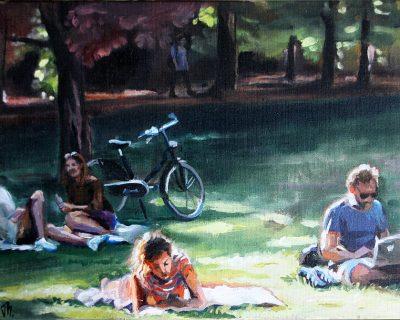 Letzter Sommertag 2 I Acryl auf Leinwand I 60 x 40 cm I 2016 (Preis auf Anfrage)