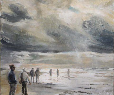 November I Acryl auf Leinwand I 70 x 70 cm I 2017 (Preis auf Anfrage)