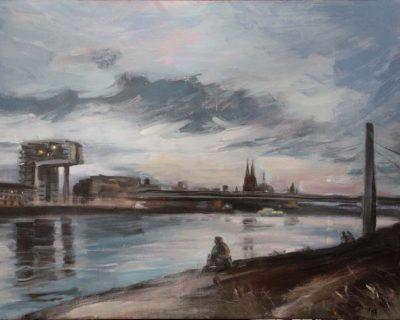 Pollerwiesen I Acryl auf Leinwand I 100 x 70 cm I 2017 (Preis auf Anfrage)